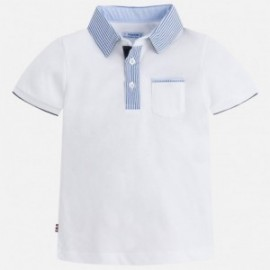 Mayoral 3124-92 Polo chłopięce kolor biały