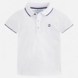 Mayoral 3144-84 Polo chłopięce kolor biały
