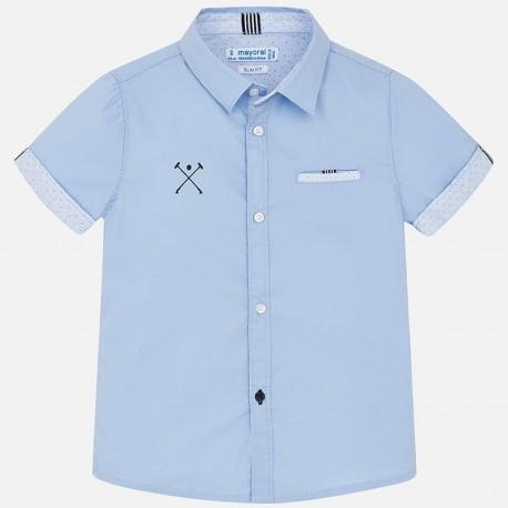 Mayoral 3150-65 Koszula chłopięca kolor błękitny