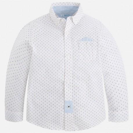Mayoral 3168-56 Koszula chłopięca kolor biały