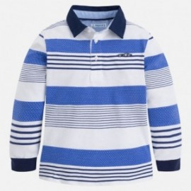 Mayoral 3178-50 Koszulka polo chłopięca kolor niebieski