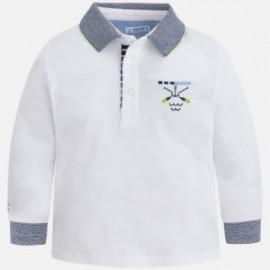 Mayoral 3182-18 Koszulka polo chłopięca kolor biały