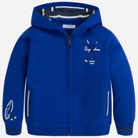 Mayoral 3464-65 Bluza chłopięca z kapturem kolor niebieski