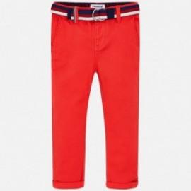Mayoral 3532-84 Spodnie chłopięce kolor czerwony