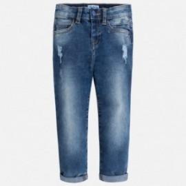Mayoral 3538-28 Spodnie chłopięce kolor jasny jeans