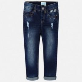 Mayoral 3538-29 Spodnie chłopięce kolor ciemny jeans