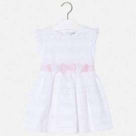 Mayoral 3978-25 Sukienka dziewczęca kolor biały