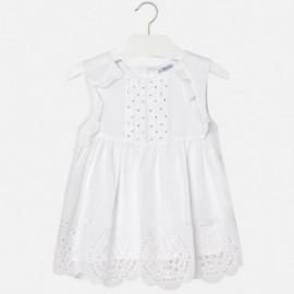 Mayoral 6110-86 Bluzka dziewczęca kolor biały