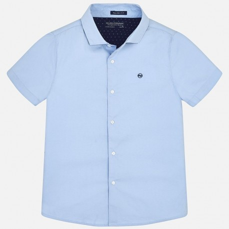 Mayoral 6144-93 Koszula chłopięca kolor błękitny