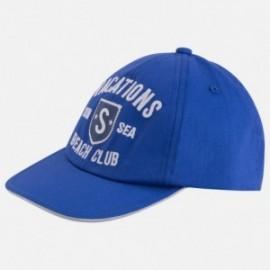Mayoral 10377-75 Czapka chłopięca kolor niebieski