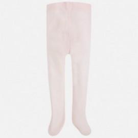 Mayoral 10395-42 Rajstopy dziewczęce kolor różowy