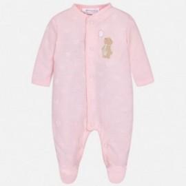 Mayoral 1716-21 Piżama niemowlęca kolor róż