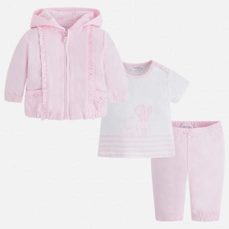 Mayoral 1808-11 Dres z koszulka dziewczęcy kolor różowy