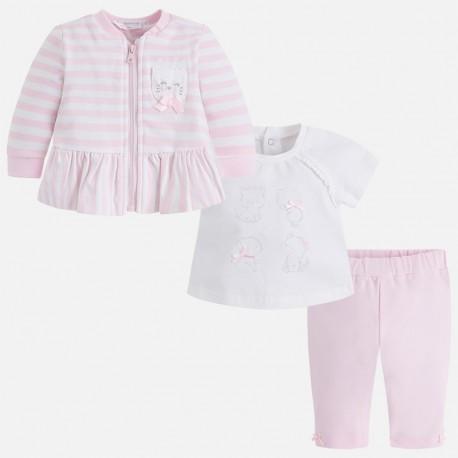 Mayoral 1810-28 Dres z koszulką dziewczęcy kolor różowy