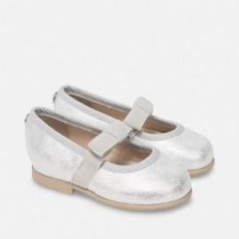 Mayoral 41850-42 Buciki dziewczęce kolor srebrny