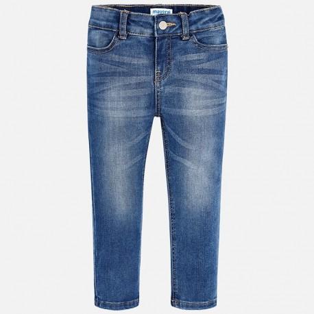 Mayoral 70-60 Spodnie dziewczęce rurki jeans kolor niebieski