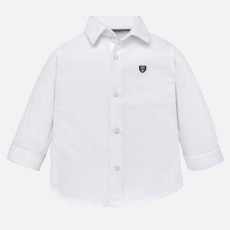 Mayoral 124-90 Koszula chłopięca kolor Biały