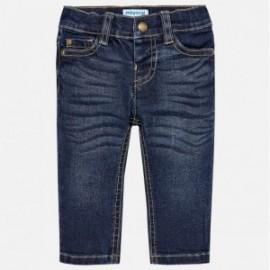 Mayoral 510-82 Spodnie chłopięce jeans kolor granat