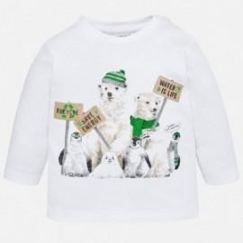 Mayoral 2022-61 Koszulka chłopięca kolor biały