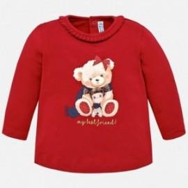 Mayoral 2044-78 Koszulka dziewczęca kolor czerwony