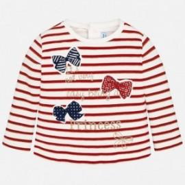Mayoral 2052-72 Koszulka dziewczęca kolor czerwony