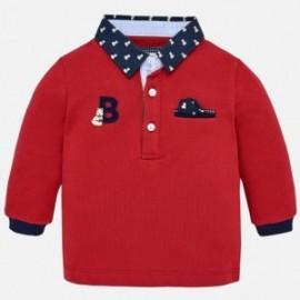 Mayoral 2116-88 Koszulka chłopięca polo kolor czerwony