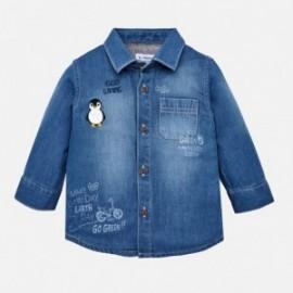 Mayoral 2126-5 Koszula chłopięca jeans kolor niebieski