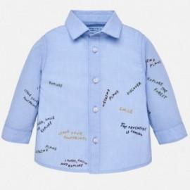 Mayoral 2138-23 Koszula chłopięca kolor błękitny