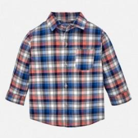 Mayoral 2142-25 Koszula chłopięca krata kolor Papryka