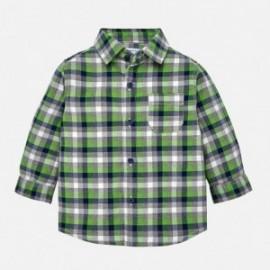 Mayoral 2142-26 Koszula chłopięca krata kolor zielony