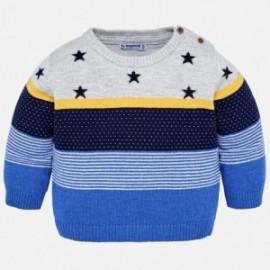 Mayoral 2302-73 Sweter chłopięcy kolor niebieski