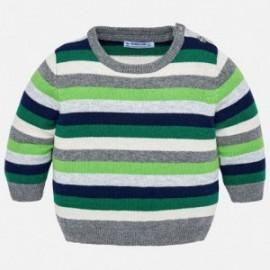 Mayoral 2322-10 Sweter chłopięcy kolor zielony