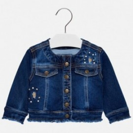 Mayoral 2474-44 Kurtka dziewczęca kolor ciemny jeans