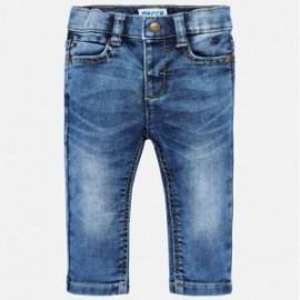 Mayoral 2550-83 Spodnie chłopięce jeans kolor niebieski