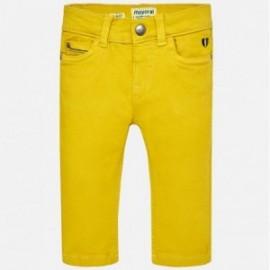Mayoral 2552-11 Spodnie chłopięce kolor złoty