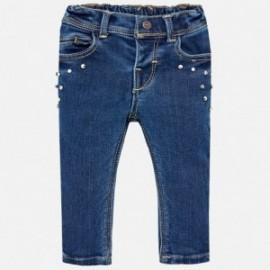 Mayoral 2576-29 Spodnie dziewczęce kolor jasny jeans