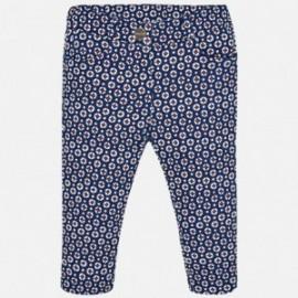 Mayoral 2578-37 Spodnie dziewczęce kolor granatowy