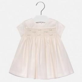 Mayoral 2932-51 Sukienka dziewczęca kolor krem