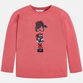 Mayoral 4070-91 Koszulka dziewczęca kolor różowy