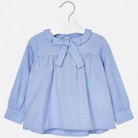 Mayoral 4132-40 Bluzka dziewczęca kolor niebieski