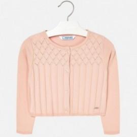 Mayoral 4326-39 Sweter dziewczęcy kolor różowy