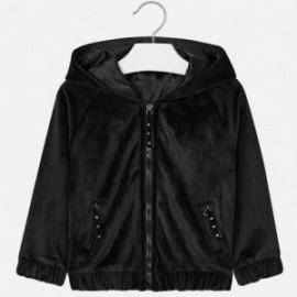 Mayoral 4423-18 Bluza dziewczęca kolor czarny