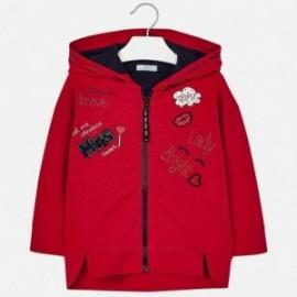 Mayoral 4425-94 Bluza dziewczęca kolor czerwony