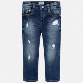 Mayoral 4520-21 Spodnie chłopięce jeans kolor Ciemny