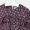 Mayoral 4952-43 Sukienka dziewczęca kolor Granat