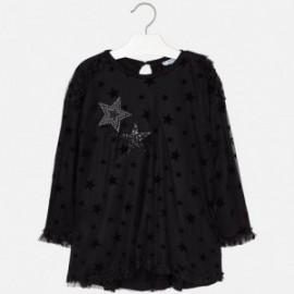 Mayoral 4960-27 Sukienka dziewczęca kolor czarny