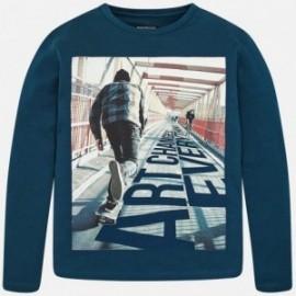 Mayoral 7024-77 Koszulka chłopięca kolor niebieski