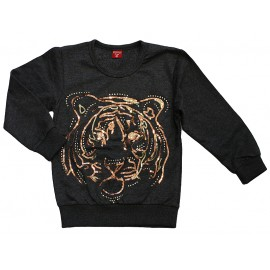Bluza import tygrys popiel