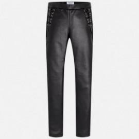 Mayoral 7532-43 Spodnie dziewczęce kolor czarny
