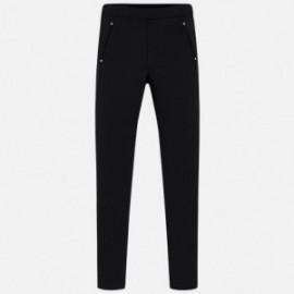 Mayoral 7536-47 Spodnie dziewczęce kolor czarny